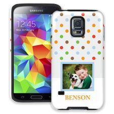 Rainbow Sprinkles Samsung Galaxy S5 ColorStrong Cush-Pro Case