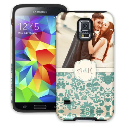 Vintage Romance Samsung Galaxy S5 ColorStrong Cush-Pro Case