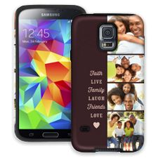 Chocolate Live Laugh Love Samsung Galaxy S5 ColorStrong Cush-Pro Case