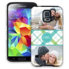 Spring Plaid Samsung Galaxy S5 ColorStrong Cush-Pro Case