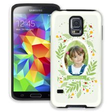 Leaves & Berries Samsung Galaxy S5 ColorStrong Cush-Pro Case