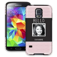 Retro Dots Samsung Galaxy S5 ColorStrong Cush-Pro Case