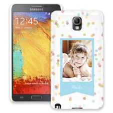 Paper Dots Samsung Galaxy Note 3 ColorStrong Slim-Pro Case