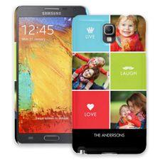 Bright Live Laugh Love Samsung Galaxy Note 3 ColorStrong Slim-Pro Case