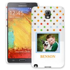 Rainbow Sprinkles Samsung Galaxy Note 3 ColorStrong Slim-Pro Case