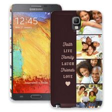 Chocolate Live Laugh Love Samsung Galaxy Note 3 ColorStrong Slim-Pro Case