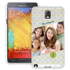 Polka Dot Muslin Samsung Galaxy Note 3 ColorStrong Slim-Pro Case