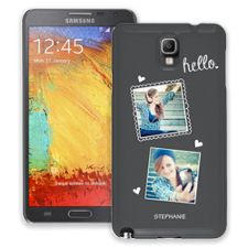 Chalk Portraits Duo Samsung Galaxy Note 3 ColorStrong Slim-Pro Case