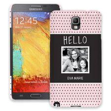Retro Dots Samsung Galaxy Note 3 ColorStrong Slim-Pro Case