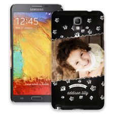 Scratch Art Flowers Samsung Galaxy Note 3 ColorStrong Slim-Pro Case