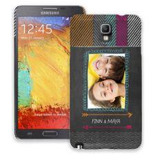 Chevron Chalkboard Samsung Galaxy Note 3 ColorStrong Slim-Pro Case