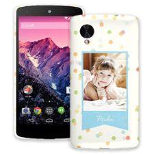 Paper Dots Google Nexus 5 ColorStrong Slim-Pro Case