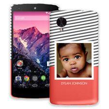 Skinny Stripes Google Nexus 5 ColorStrong Slim-Pro Case