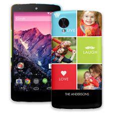 Bright Live Laugh Love Google Nexus 5 ColorStrong Slim-Pro Case