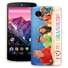 Grandkids and Crayons Google Nexus 5 ColorStrong Slim-Pro Case
