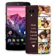 Chocolate Live Laugh Love Google Nexus 5 ColorStrong Slim-Pro Case