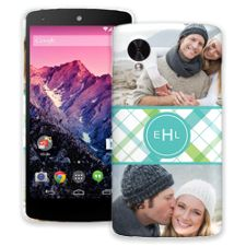 Spring Plaid Google Nexus 5 ColorStrong Slim-Pro Case