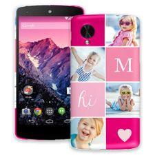 Strawberry Squares Google Nexus 5 ColorStrong Slim-Pro Case