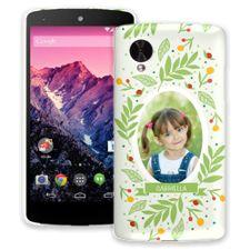 Leaves & Berries Google Nexus 5 ColorStrong Slim-Pro Case