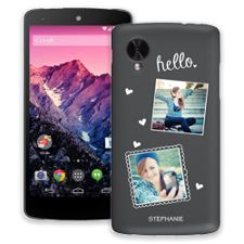 Chalk Portraits Duo Google Nexus 5 ColorStrong Slim-Pro Case