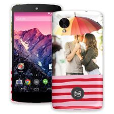 Raspberry Waves Google Nexus 5 ColorStrong Slim-Pro Case