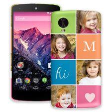 ColorBlocks Google Nexus 5 ColorStrong Slim-Pro Case
