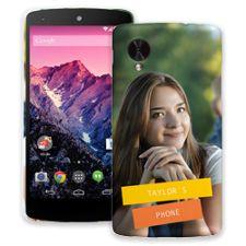 Retro Label Google Nexus 5 ColorStrong Slim-Pro Case