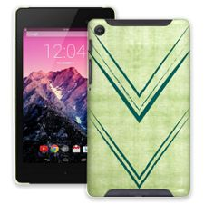 Green Arrowheads Google Nexus 7 ColorStrong Slim-Pro Case