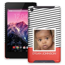 Skinny Stripes Google Nexus 7 ColorStrong Slim-Pro Case