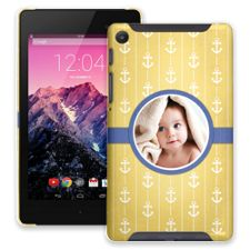 Blue Ribbon Anchors Google Nexus 7 ColorStrong Slim-Pro Case