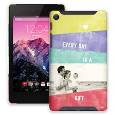 Pastel Bars Google Nexus 7 ColorStrong Slim-Pro Case