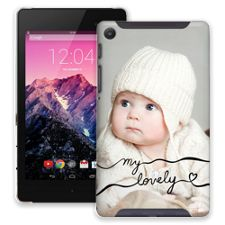 Lovely Chocolate Swirls Google Nexus 7 ColorStrong Slim-Pro Case