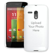 Design Your Own - 1 Photo Motorola MotoG ColorStrong Slim-Pro Case