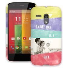 Pastel Bars Motorola MotoG ColorStrong Slim-Pro Case