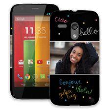 Neon Hello Motorola MotoG ColorStrong Slim-Pro Case