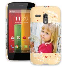 Honey Wheat Heart Motorola MotoG ColorStrong Slim-Pro Case