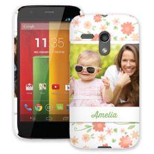 Sweet Floral Motorola MotoG ColorStrong Slim-Pro Case