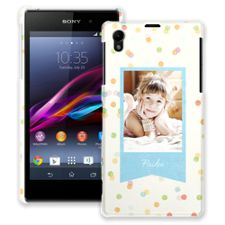 Paper Dots Sony Xperia Z1 ColorStrong Slim-Pro Case