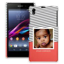 Skinny Stripes Sony Xperia Z1 ColorStrong Slim-Pro Case