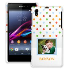 Rainbow Sprinkles Sony Xperia Z1 ColorStrong Slim-Pro Case