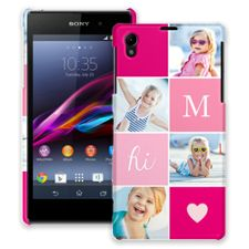 Strawberry Squares Sony Xperia Z1 ColorStrong Slim-Pro Case