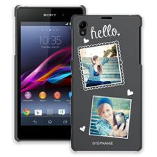 Chalk Portraits Duo Sony Xperia Z1 ColorStrong Slim-Pro Case