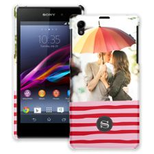 Raspberry Waves Sony Xperia Z1 ColorStrong Slim-Pro Case