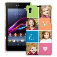 ColorBlocks Sony Xperia Z1 ColorStrong Slim-Pro Case