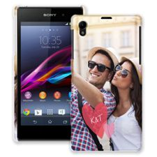 Tissue Paper Hearts Sony Xperia Z1 ColorStrong Slim-Pro Case