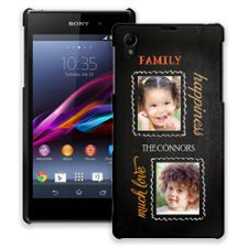 Family Portrait Duo Sony Xperia Z1 ColorStrong Slim-Pro Case
