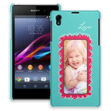 Love Scribbles Sony Xperia Z1 ColorStrong Slim-Pro Case