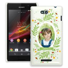 Leaves & Berries Sony Xperia C ColorStrong Slim-Pro Case