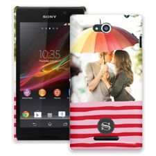 Raspberry Waves Sony Xperia C ColorStrong Slim-Pro Case