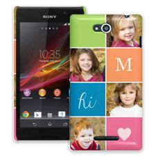 ColorBlocks Sony Xperia C ColorStrong Slim-Pro Case